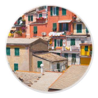Bouton De Porte En Céramique Cinque Terre Italie en Riviera italienne