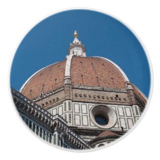 Bouton De Porte En Céramique Duomo à Florence Italie