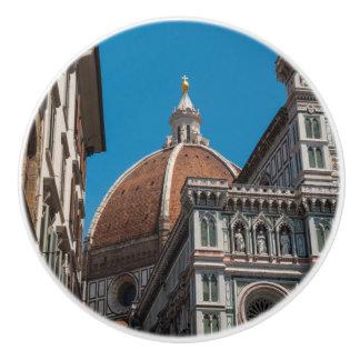 Bouton De Porte En Céramique Duomo de Florence ou de Firenze Italie