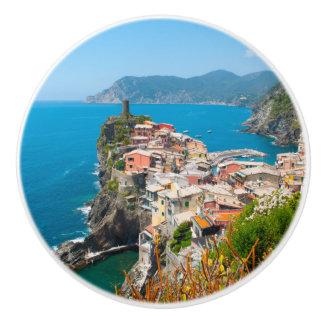 Bouton De Porte En Céramique Emplacement de destination de Cinque Terre Italie