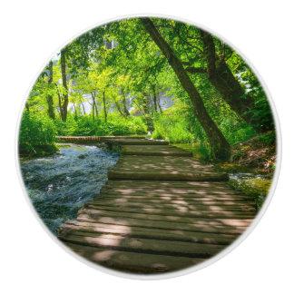 Bouton De Porte En Céramique Parc national de Plitvice en Croatie