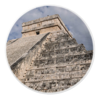 Bouton De Porte En Céramique Ruine maya de Chichen Itza au Mexique