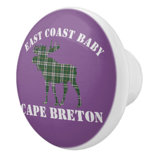 Bouton De Porte En Céramique Traction bretonne de tiroir de cap d'orignaux   de