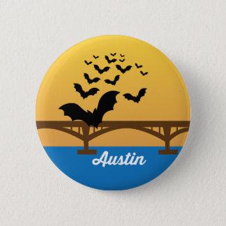 Bouton de renommée mondiale de pont de batte badge rond 5 cm