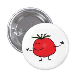 Bouton de tomate badge rond 2,50 cm