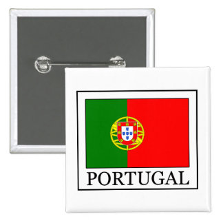 Bouton du Portugal Badge Carré 5 Cm