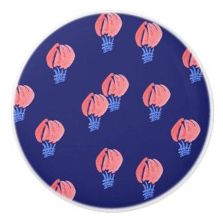 Bouton en céramique de ballons à air
