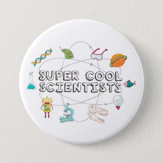 Bouton frais superbe de scientifiques badge rond 7,6 cm