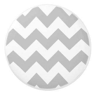 Bouton gris et blanc de meubles d'impression de
