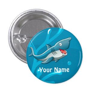 Bouton mignon aquatique de coutume de requin pin's avec agrafe