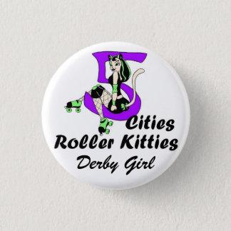 bouton officiel de fille de 5CRK Derby Badge Rond 2,50 Cm