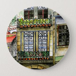 Bouton rond énorme 4 pouces de maison du Portugal Badge Rond 10 Cm