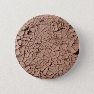 Bouton sec de boue badge rond 5 cm