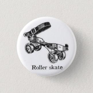 Bouton vintage de patin de rouleau badge rond 2,50 cm