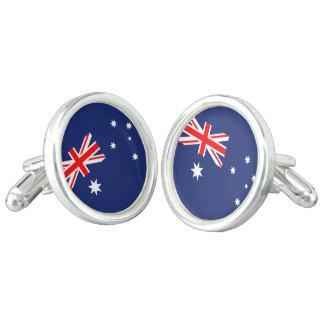 Boutons De Manchette Drapeau de l'Australie