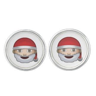 Boutons De Manchette Noël Emoji de père