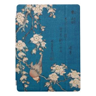 Bouvreuil de Hokusai et art pleurant de GalleryHD Protection iPad Pro