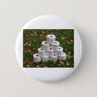 Bowling de papier hygiénique badge rond 5 cm