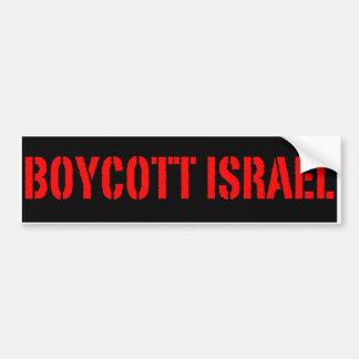 Boycott Israël - adhésif pour pare-chocs Autocollant Pour Voiture