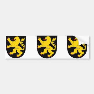 Brabant, Belgique Autocollant De Voiture