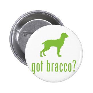 Bracco Italiano Badge Rond 5 Cm