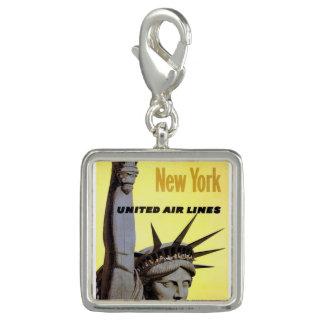 Bracelet à la mode New York de charme de photo