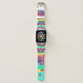 Bracelet Apple Watch Aimer l'arc-en-ciel !