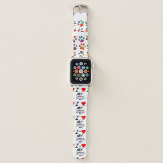 Bracelet Apple Watch amour bernese de chien de mt
