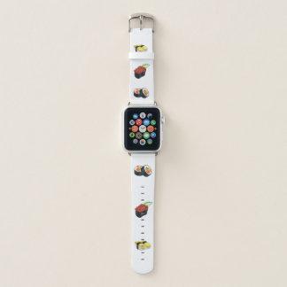 Bracelet Apple Watch Amusement de poissons de crabe japonais de