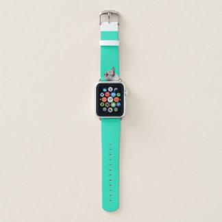 Bracelet Apple Watch Aqua de l'amour | de carlin coloré