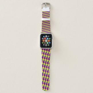 Bracelet Apple Watch Aubergine étonnée par Kenneth Yoncich