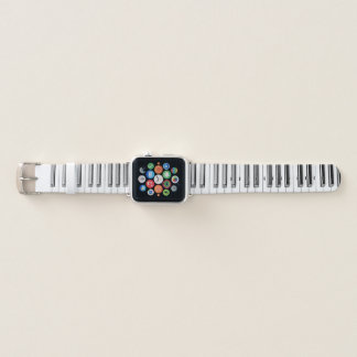 Bracelet Apple Watch Bande de montre d'Apple de clavier de piano de