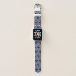 Bracelet Apple Watch Bleu de carlin de Viking