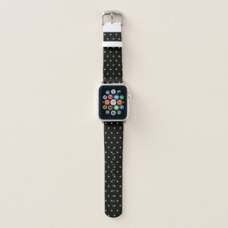 Bracelet Apple Watch Caïmite parties scintillantes de Faux observent la