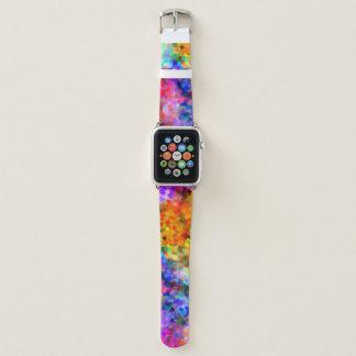 Bracelet Apple Watch Couleurs d'éblouissement Chakra
