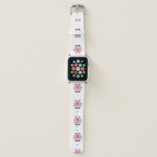 Bracelet Apple Watch Gros porcs roses