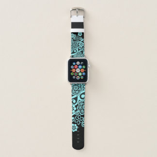 Bracelet Apple Watch Impression florale unique