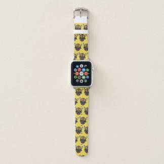 Bracelet Apple Watch Jaune de carlin de Viking