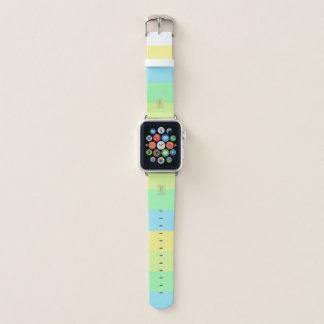 Bracelet Apple Watch La palette de couleurs de chaux d'océan d'été