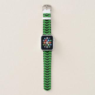Bracelet Apple Watch Le chat de vampire a fait face à la batte