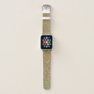 Bracelet Apple Watch Les parties scintillantes scintillantes Apple de