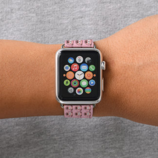 Bracelet Apple Watch Petits porcs