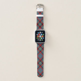 Bracelet Apple Watch Plaid de tartan irlandais de MacNamara de clan de