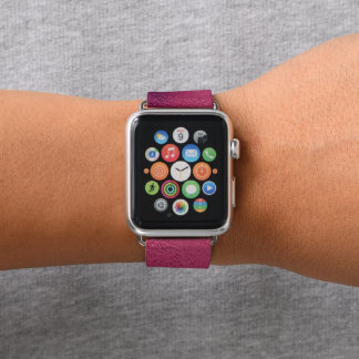 Bracelet Apple Watch Regard chic chic et élégant d'aluminium de rose de