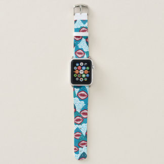 Bracelet Apple Watch Requins affamés