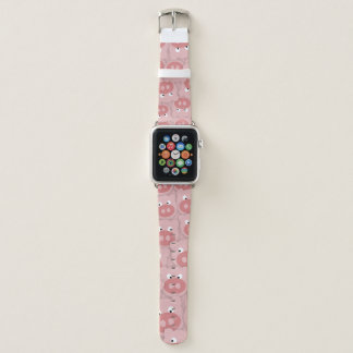 Bracelet Apple Watch Visages porcins