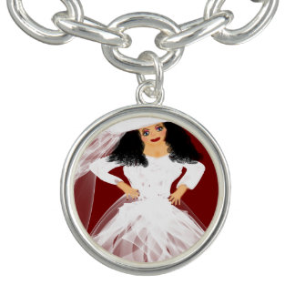 """Bracelet Avec Breloques """"Bracelet de charme des dames élégantes"""""""