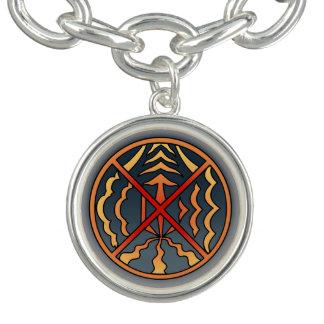 Bracelet Avec Breloques Cadeaux tribaux spirituels de premier de nation