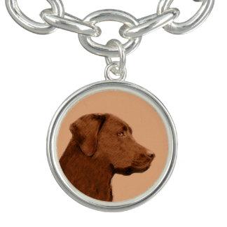 Bracelet Avec Breloques Labrador retriever (chocolat)