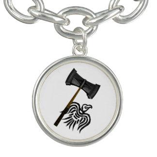 Bracelet Avec Breloques Marteau de bataille de Viking du Thor
